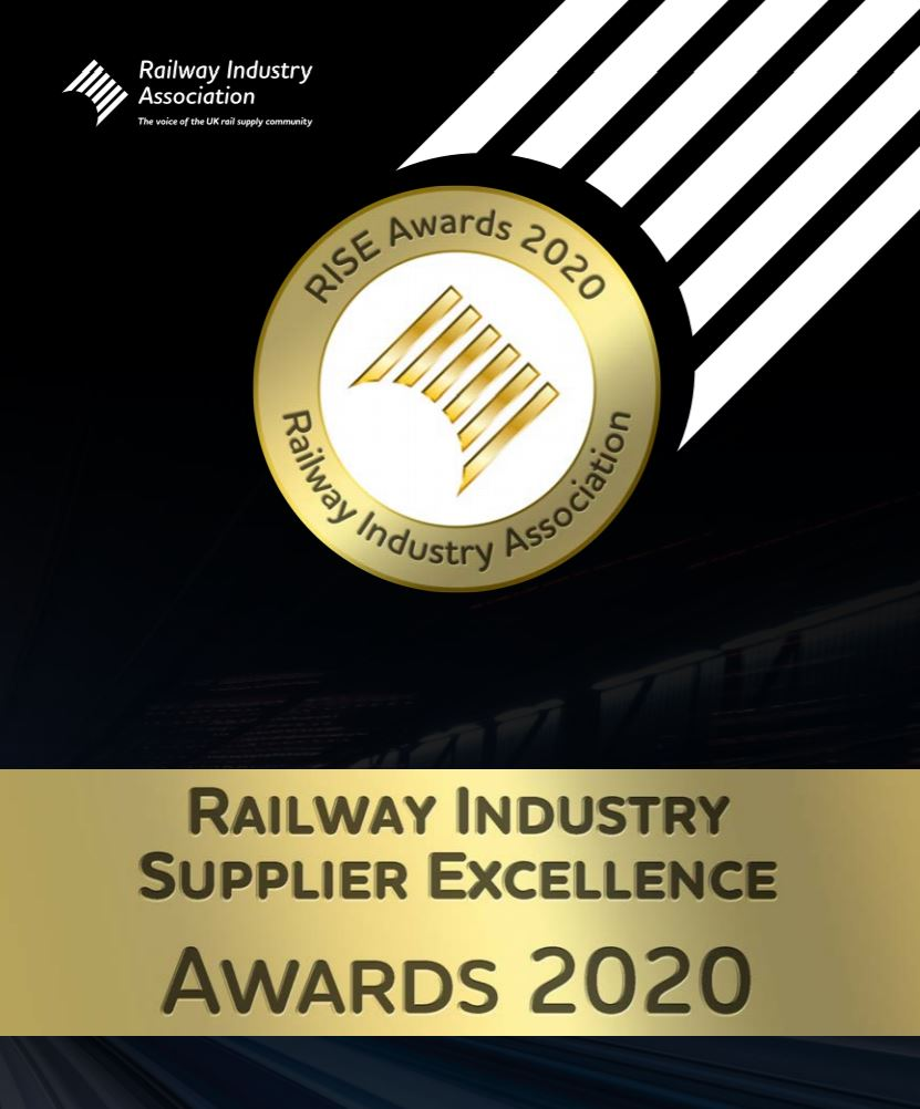 AIVR Shortlisted for RIA Rail Industry Supplier Excellence (RISE) Awards